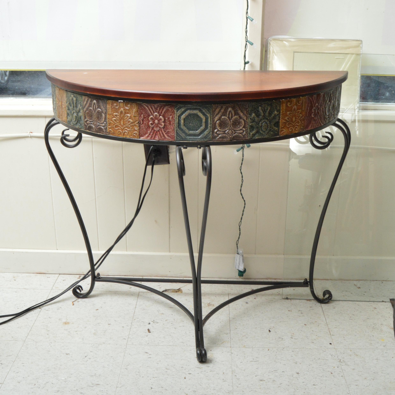 Decorative Console Table
