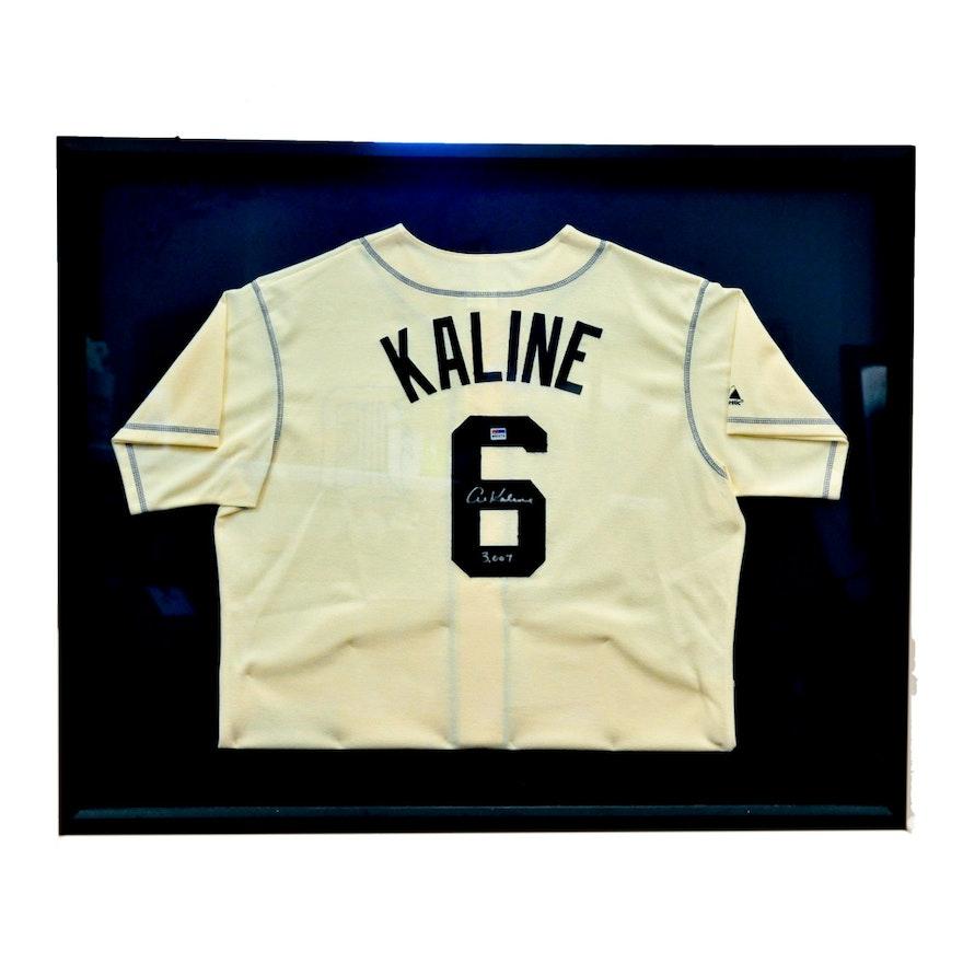 meet d7523 07d02 (HOF) Detroit Tigers Al Kaline Autographed Jersey (COA)