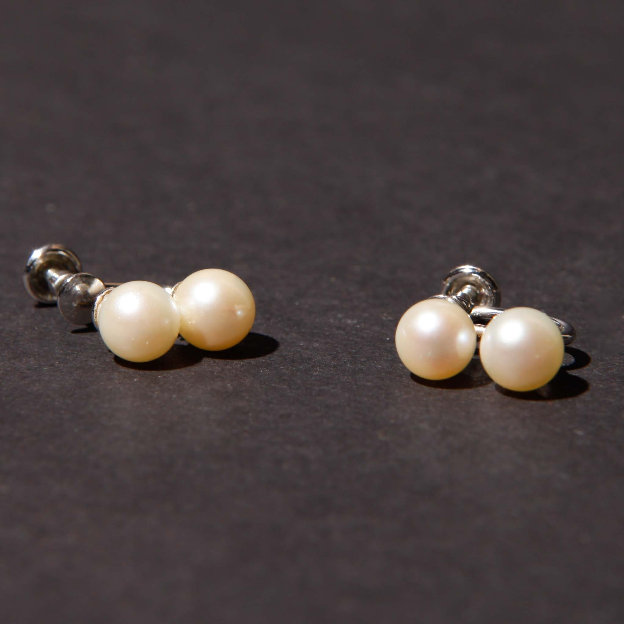 12K Gold Filled Cultured Pearl Earrings