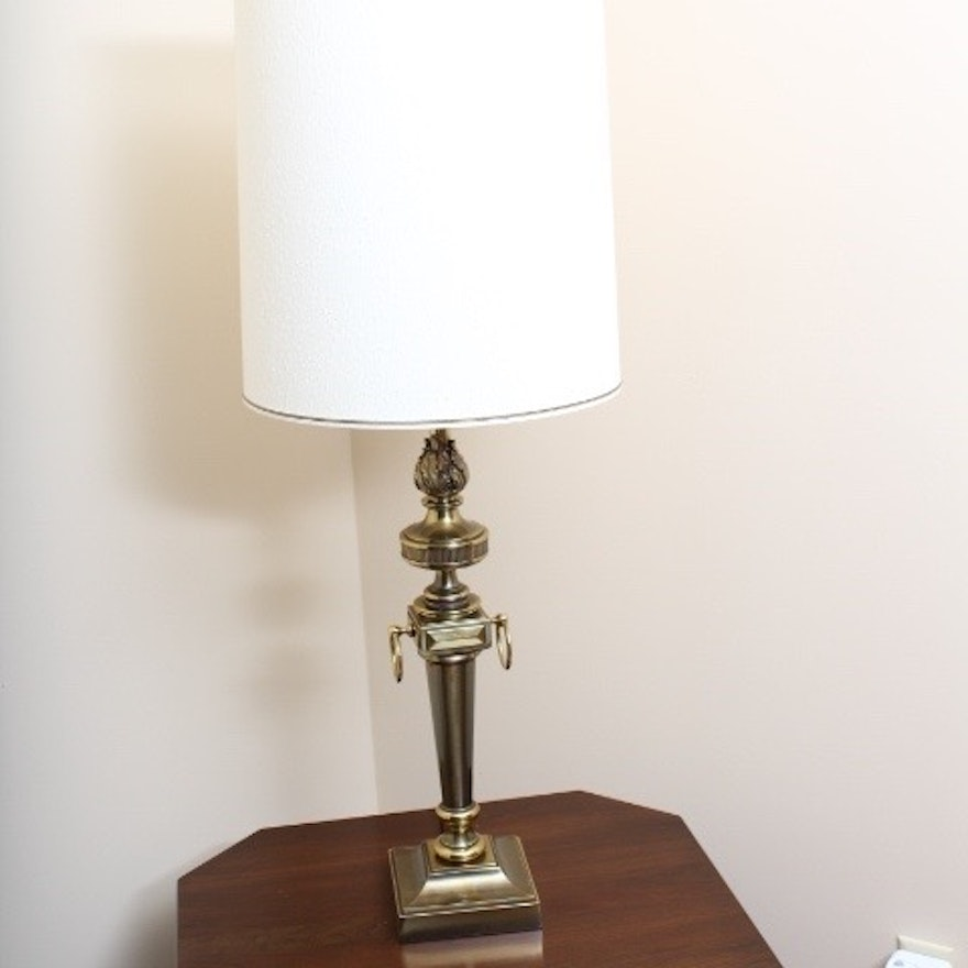 Mid Century Modern Solid Brass Leviton Table Lamp : EBTH
