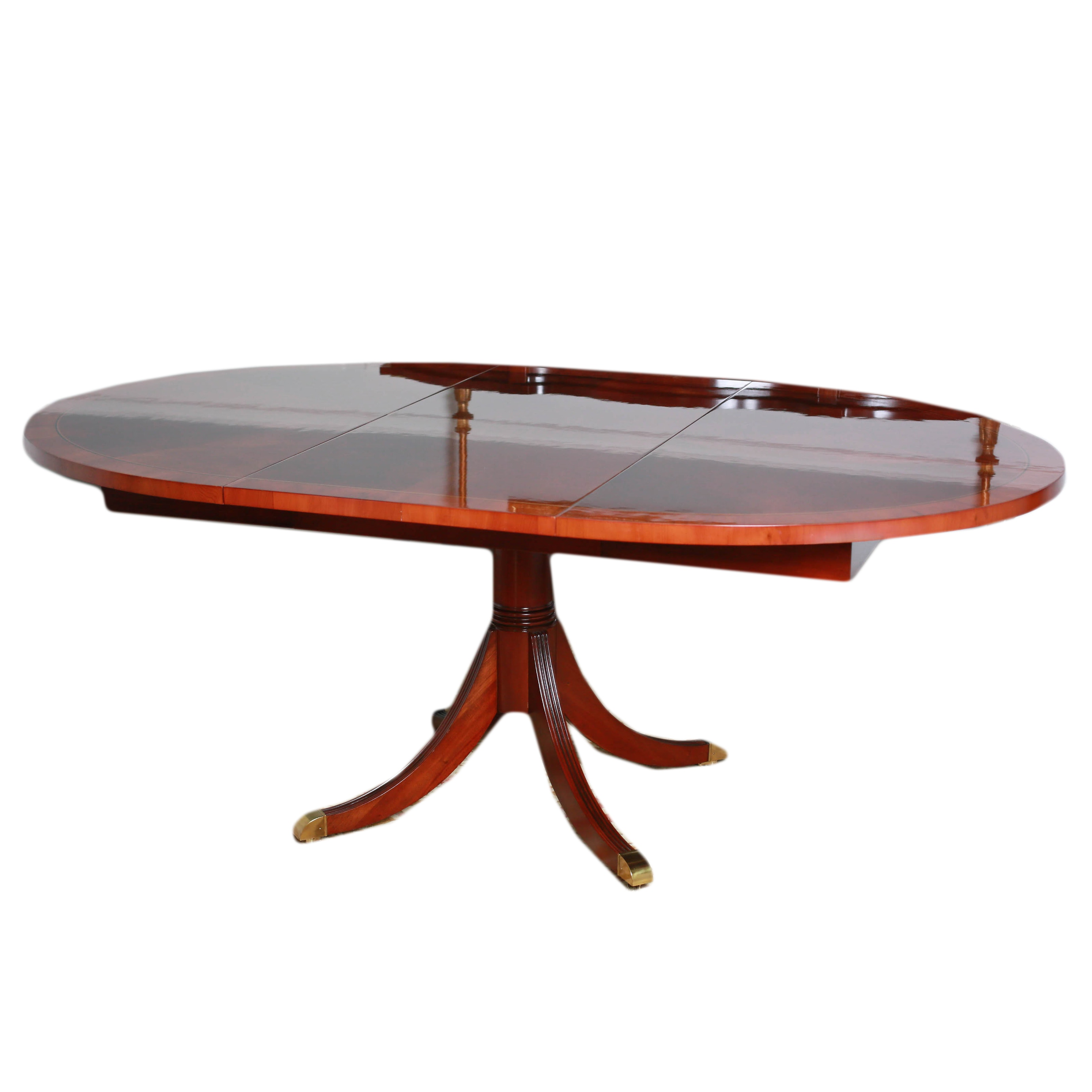 "Heckman Furniture ""Copley Square"" Dining Table with Leaf Model #6-711"