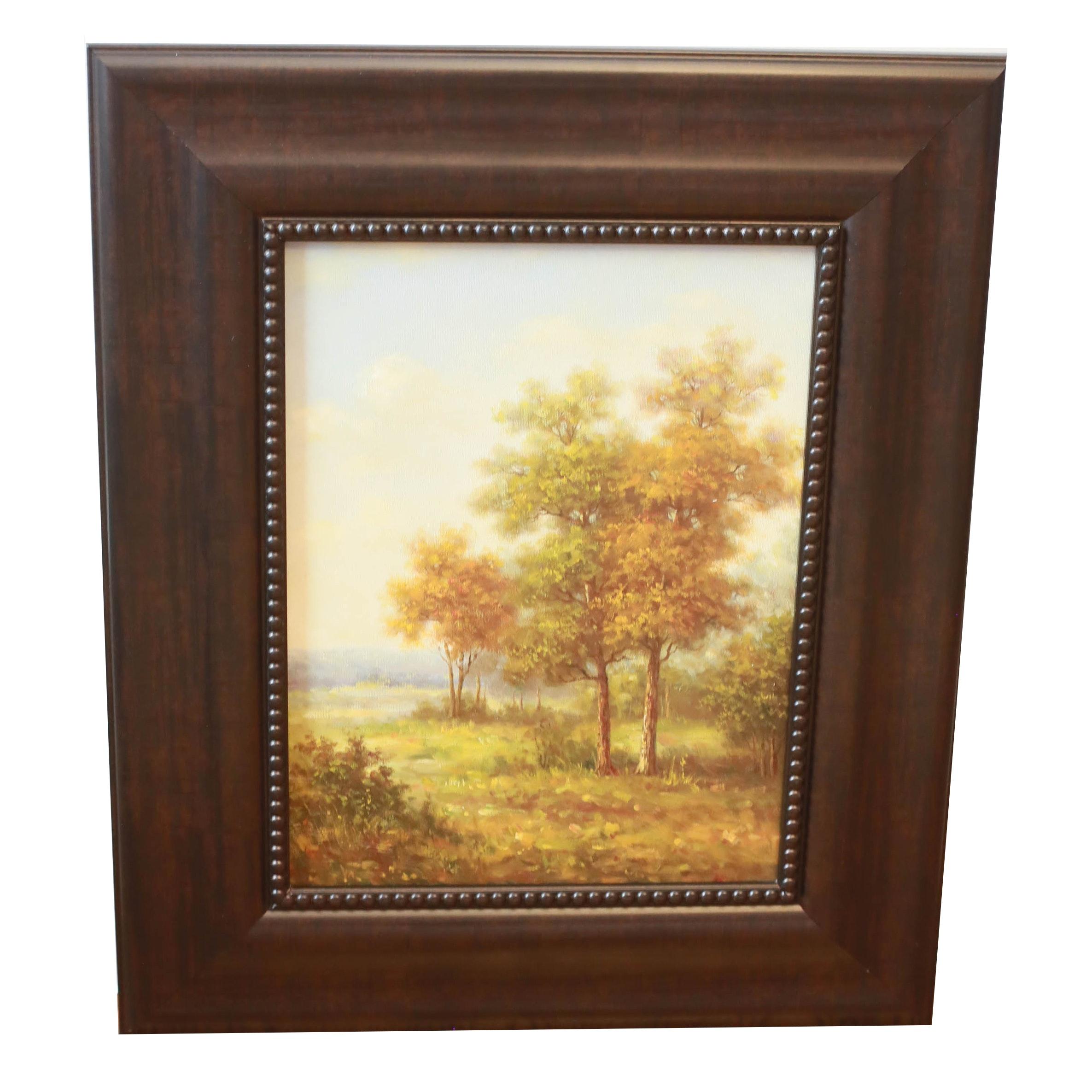 Original Landscape Oil on Canvas