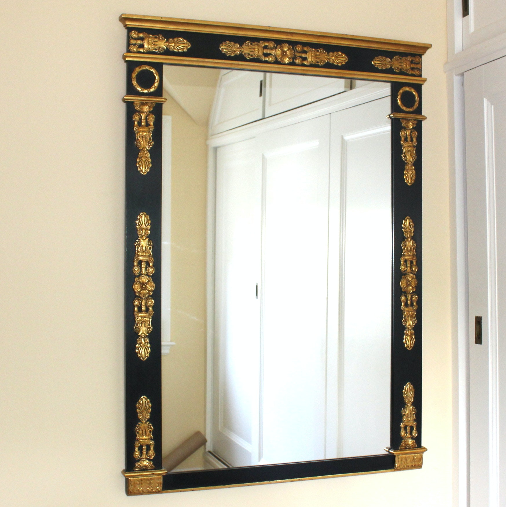 French Neoclassical Wall Mirror
