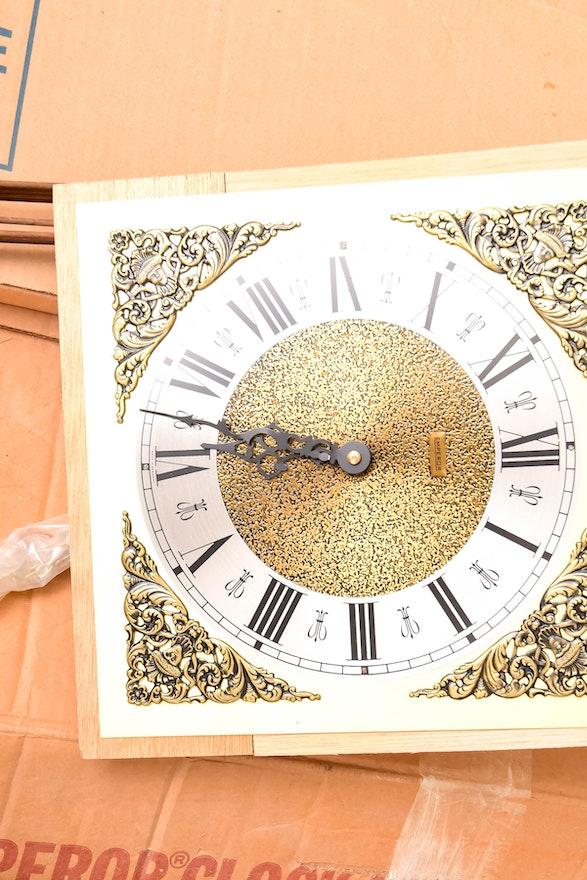 Emperor Grandfather Clock Kit Ebth