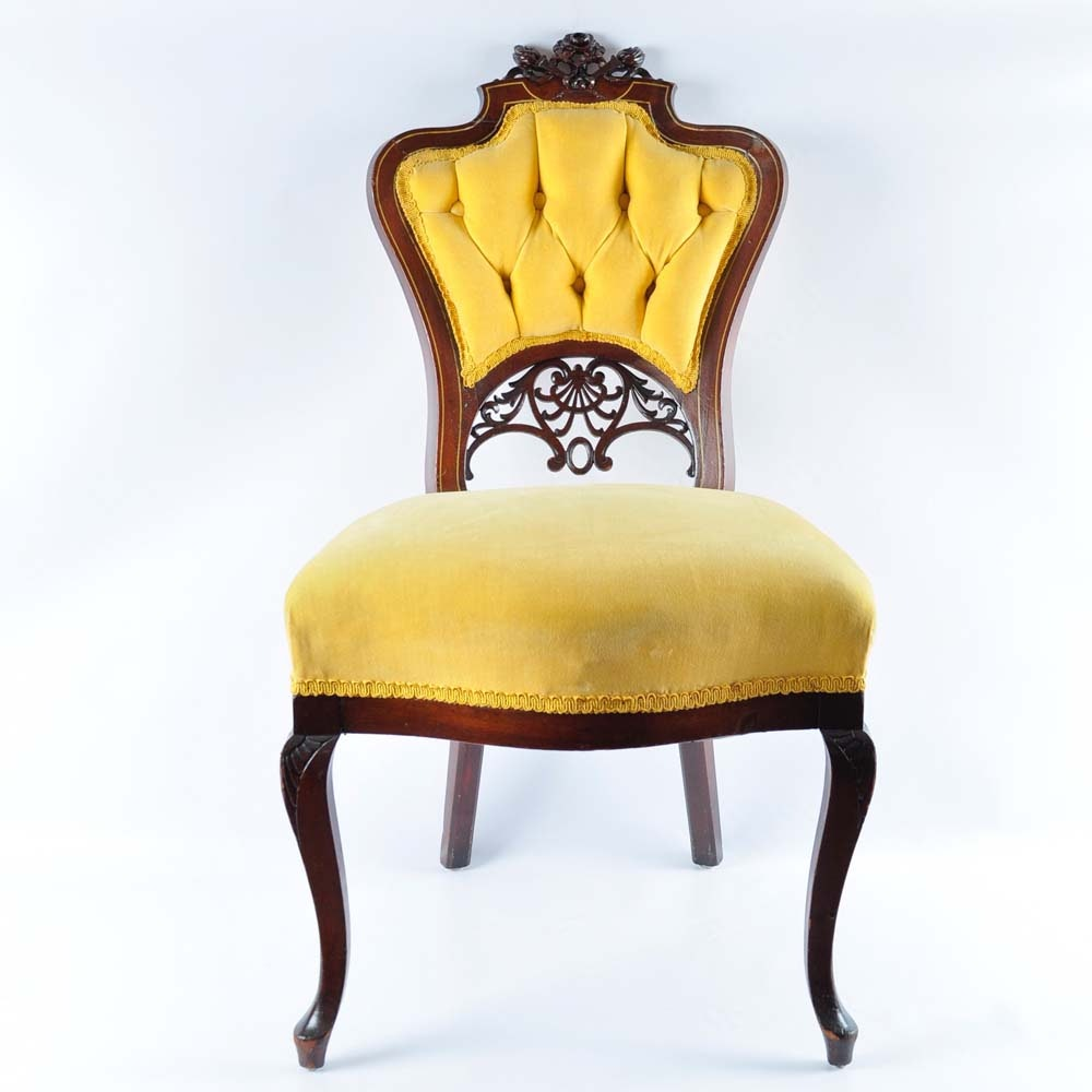Venetian Gothic Style Parlor Chair