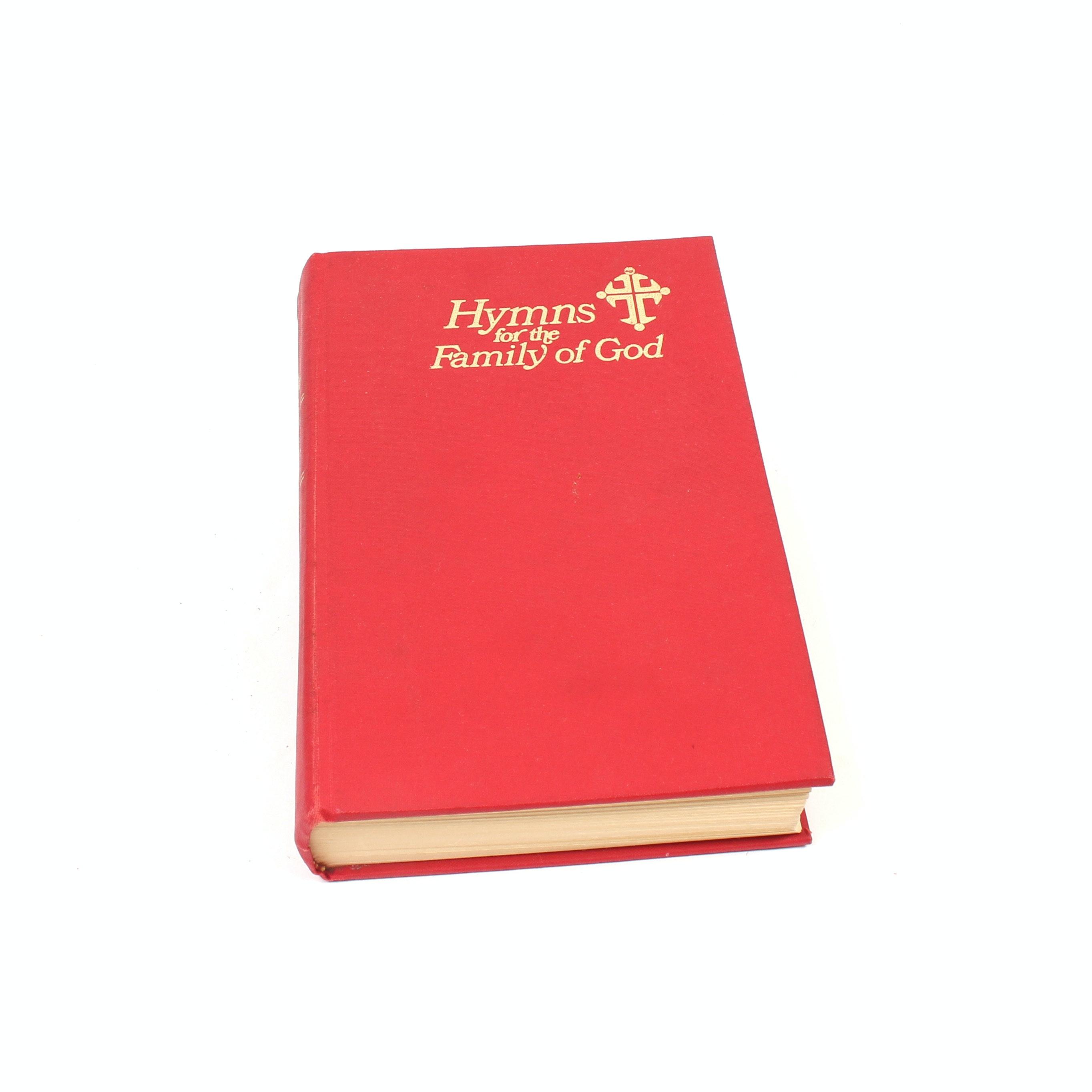 1976 Hymn Book