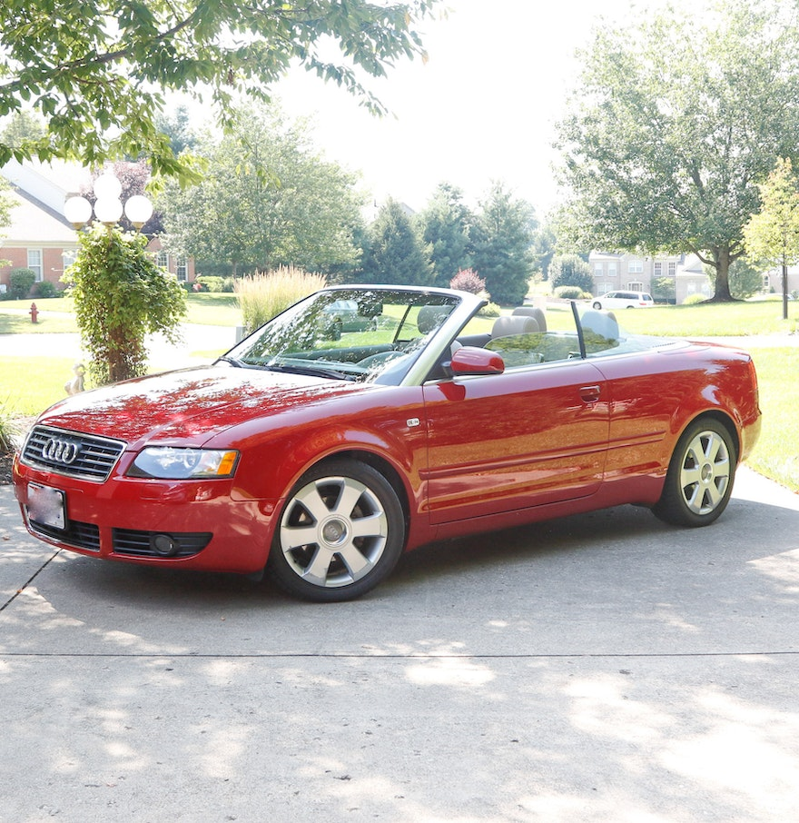 2005 audi a4 1 8t cabriolet ebth for Audi a4 1 8 t motor for sale