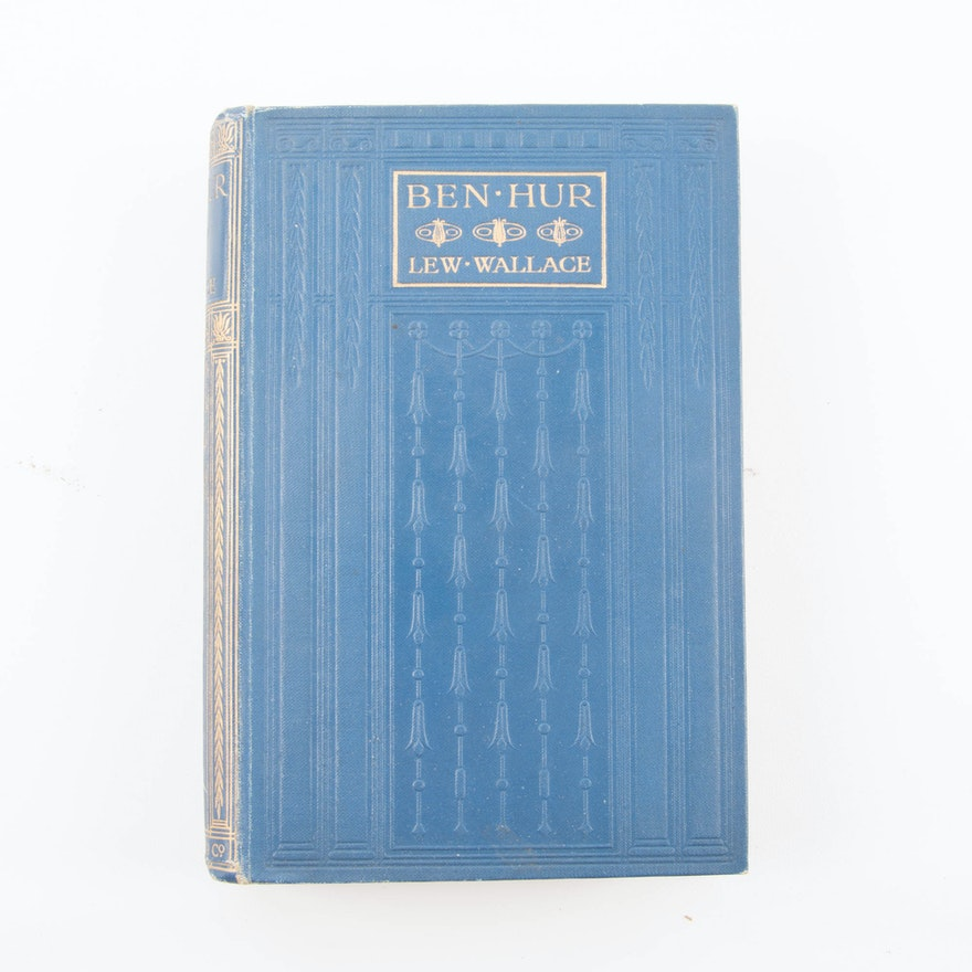 Antique British Edition Of Ben Hur By Lew Wallace Ebth