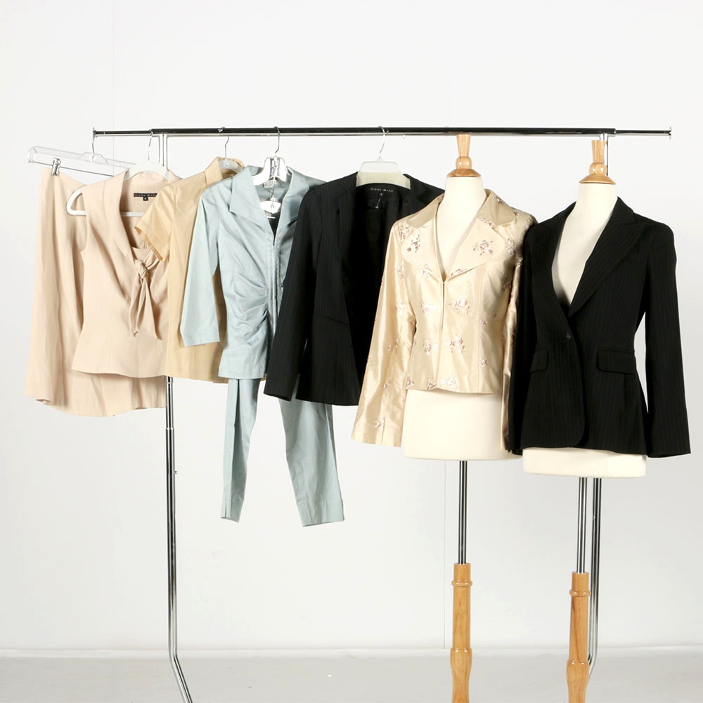 Collection of Women's Clothing Including Nanette Lepore and Jenne Maag