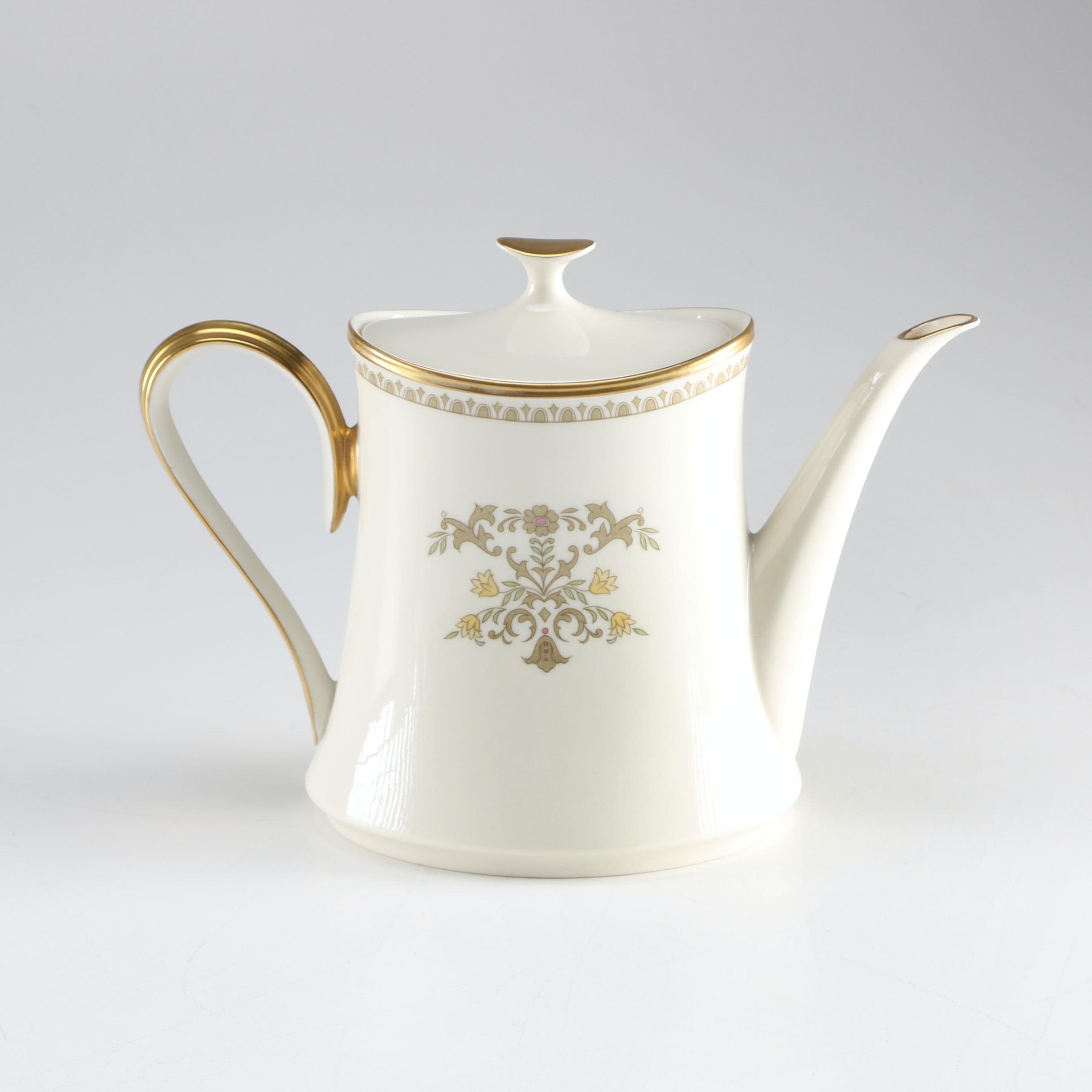 Lenox Castle Garden Coffee Pot