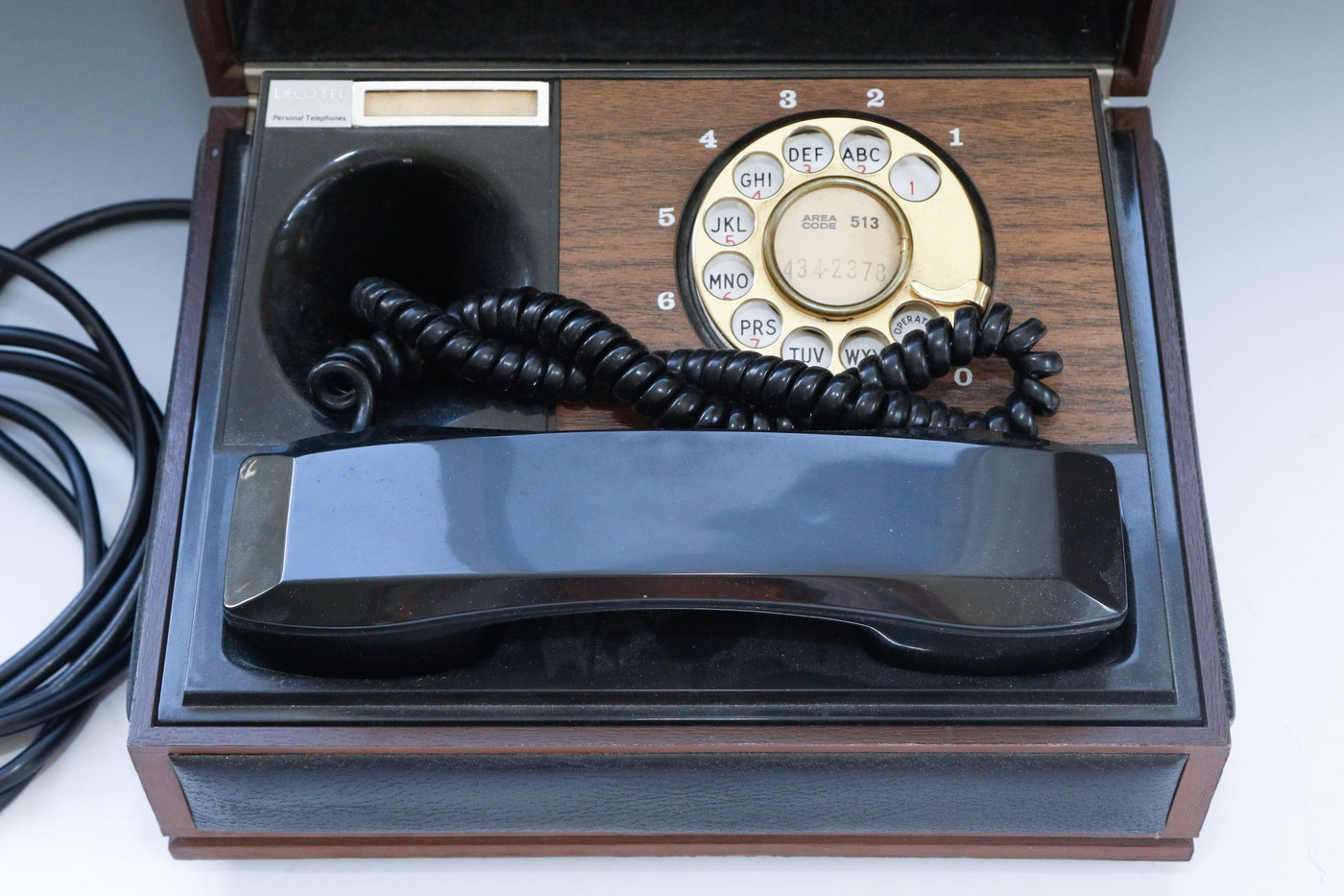 vintage deco tel personal telephone ebth. Black Bedroom Furniture Sets. Home Design Ideas