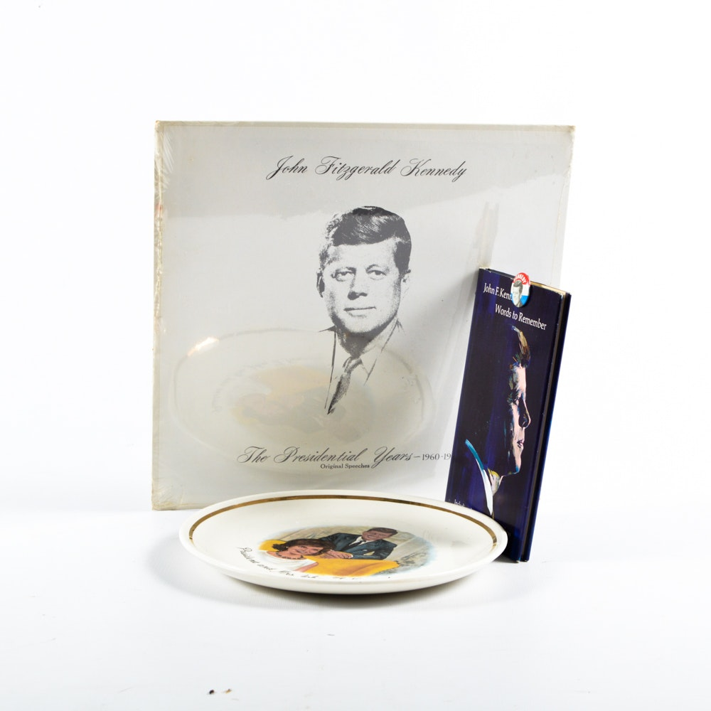Collection of JFK Memorabilia