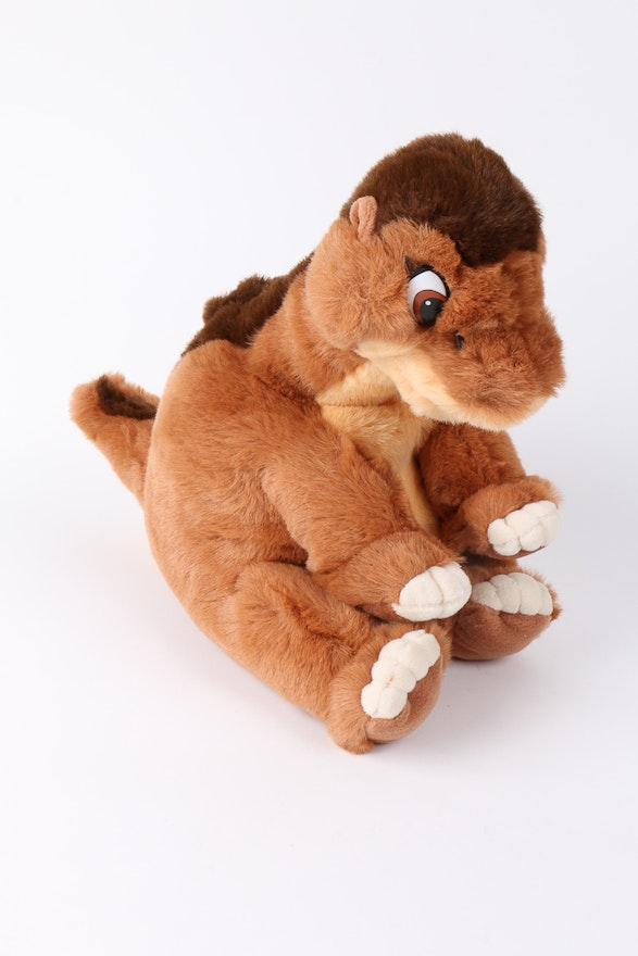 Set Of Gund Land Before Time Stuffed Animals Ebth