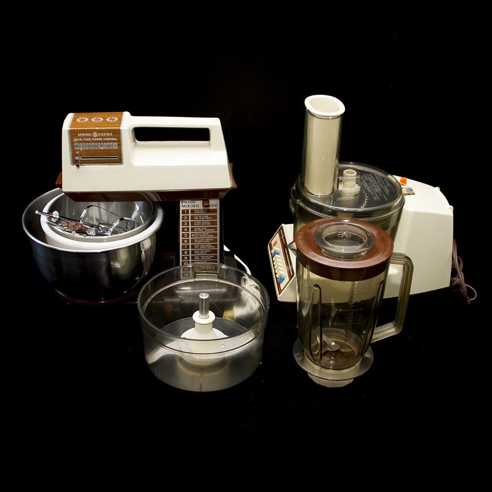 Vintage ge kitchen appliances ebth - Ge kitchen appliances ...