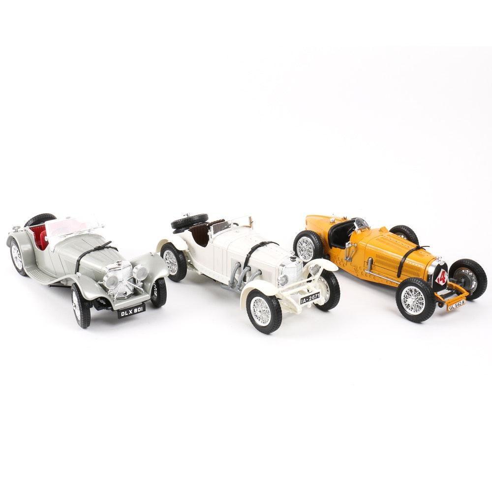 Burago 1/18 Scale Model Car Collection