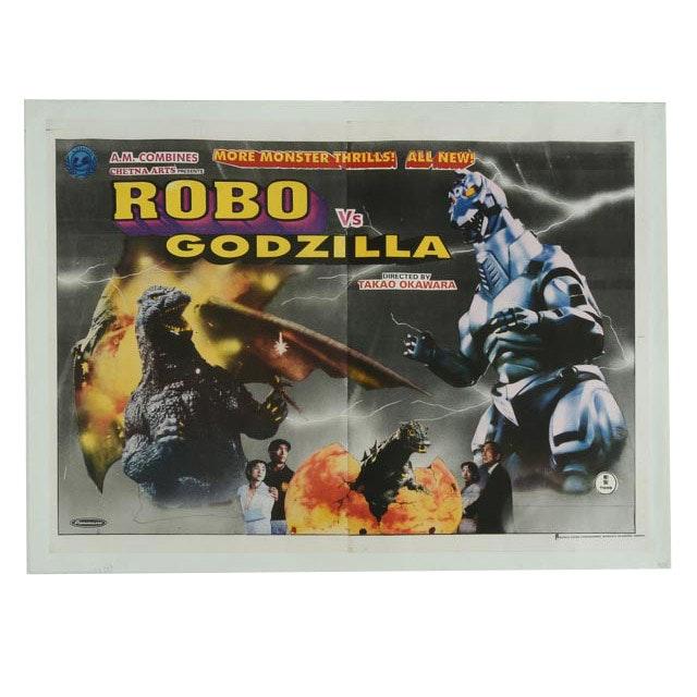 """Robo Vs. Godzilla"" Original Movie Poster"