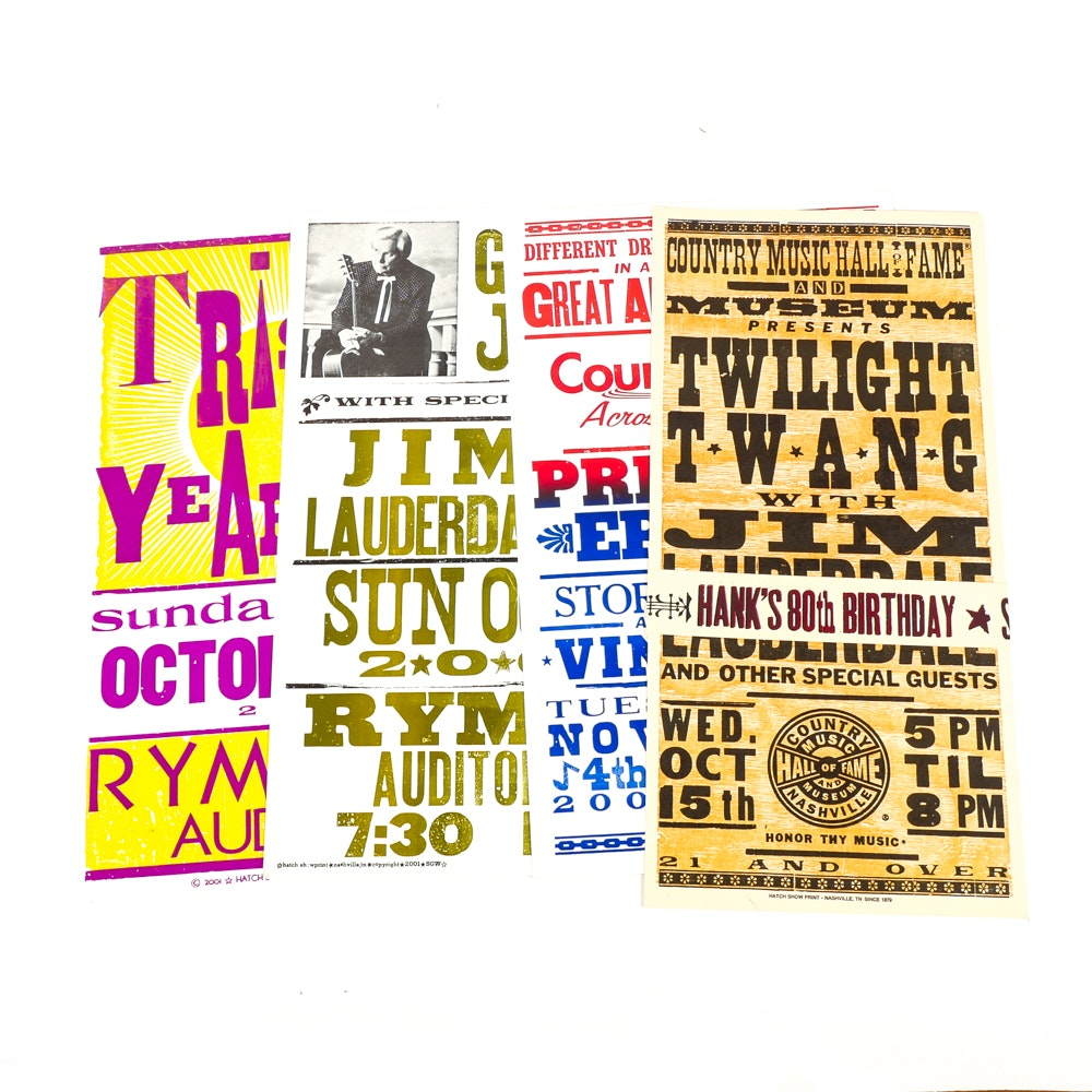 Hatch Show Print Posters