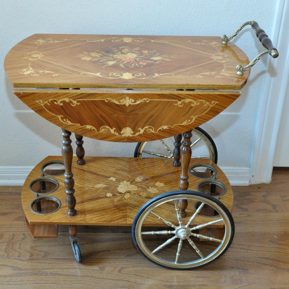 Ornate Italian Tea Cart