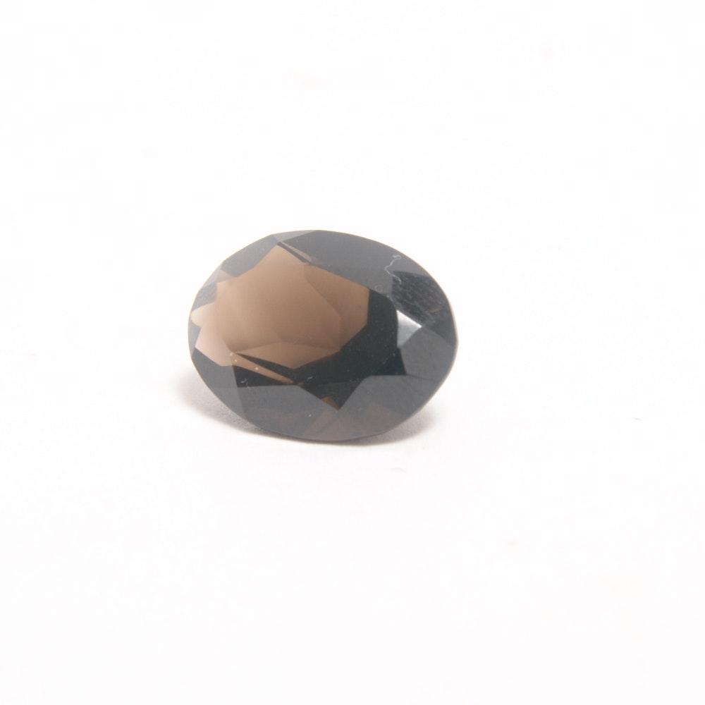 Oval Smoky Quartz Loose Gem Stone
