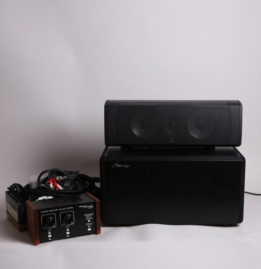 Mirage Bps 100i Subwoofer Niles Audio Svc 2 Infinity