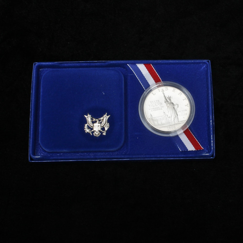 1986-S Liberty Silver Dollar Proof
