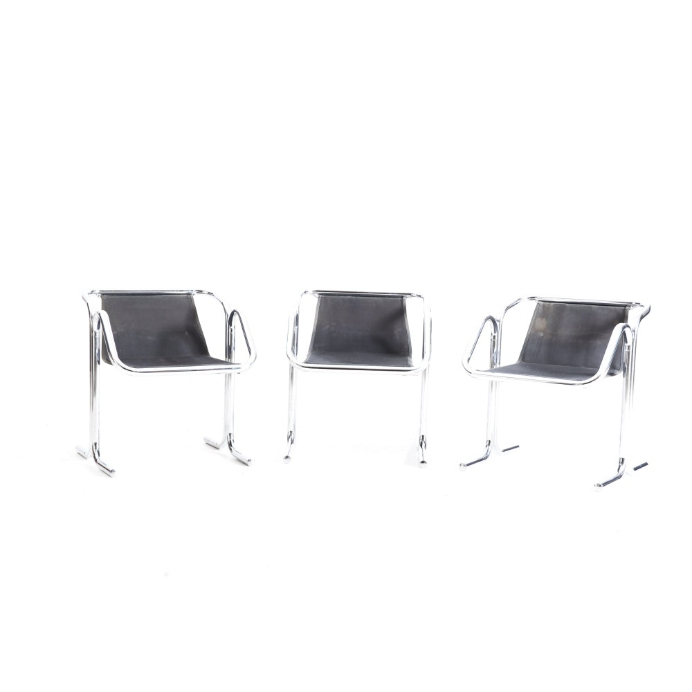 Set of Three Jerry Johnson Arcadia Sling Chairs