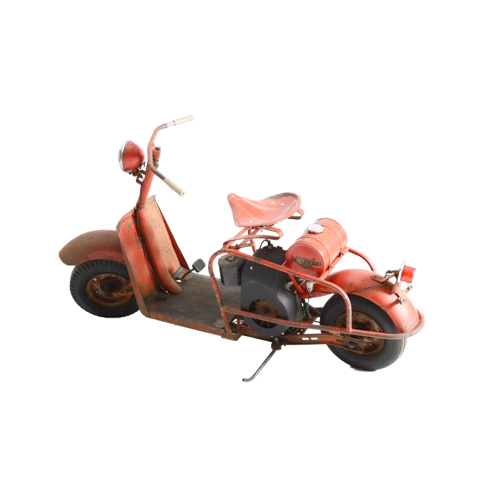 1958 Sears Allstate Motor Scooter by Cushman