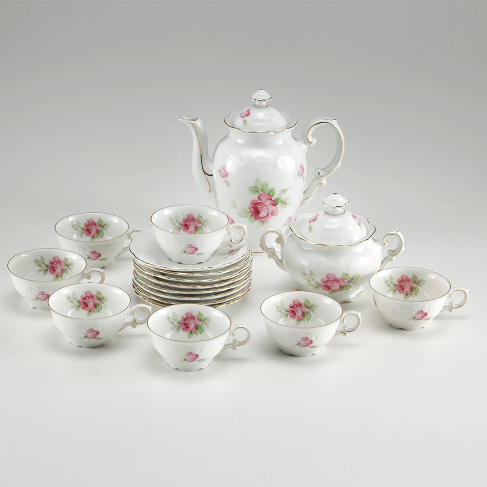 1940s Schumann Tea Set From Germany