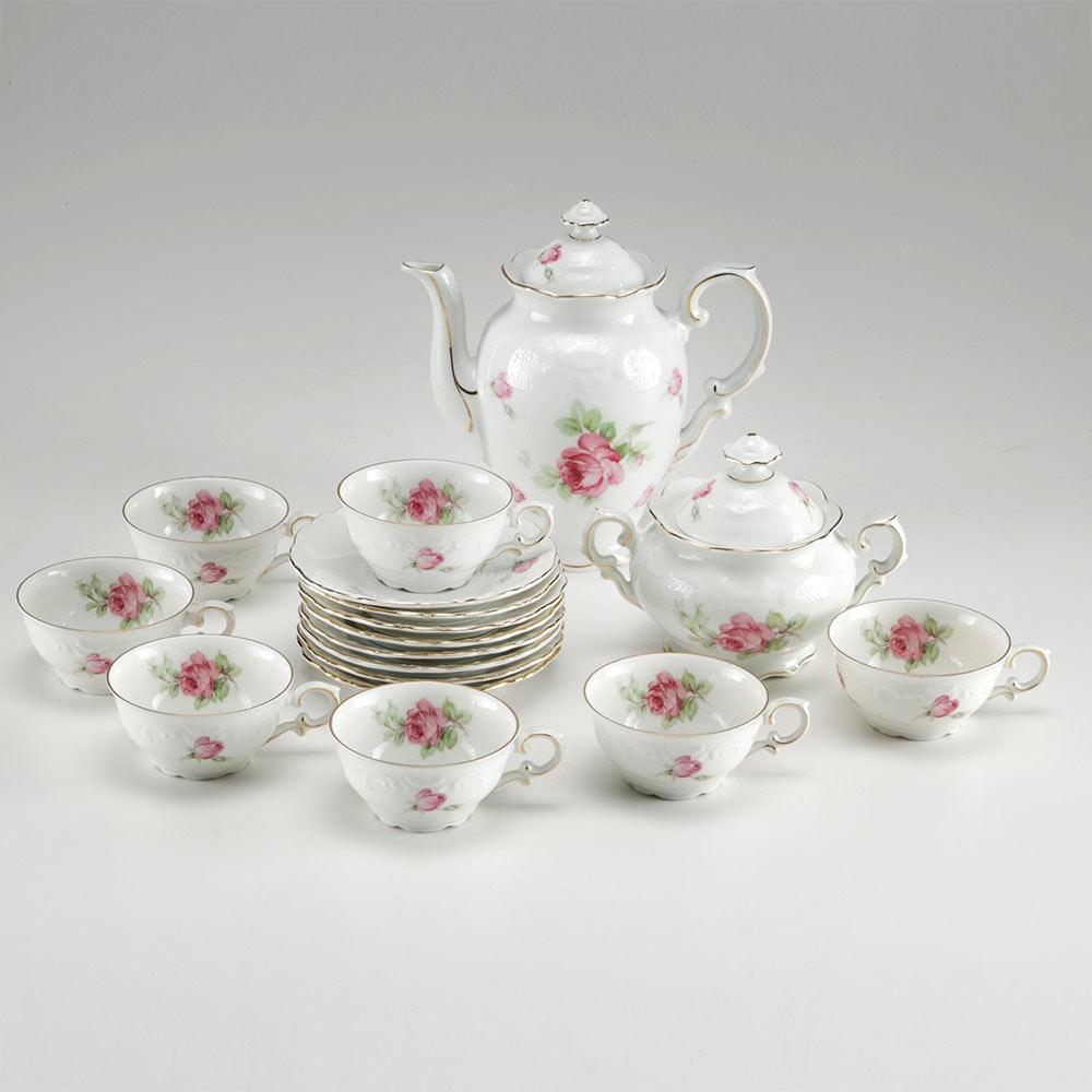 1940s Schumann Tea Set From Germany