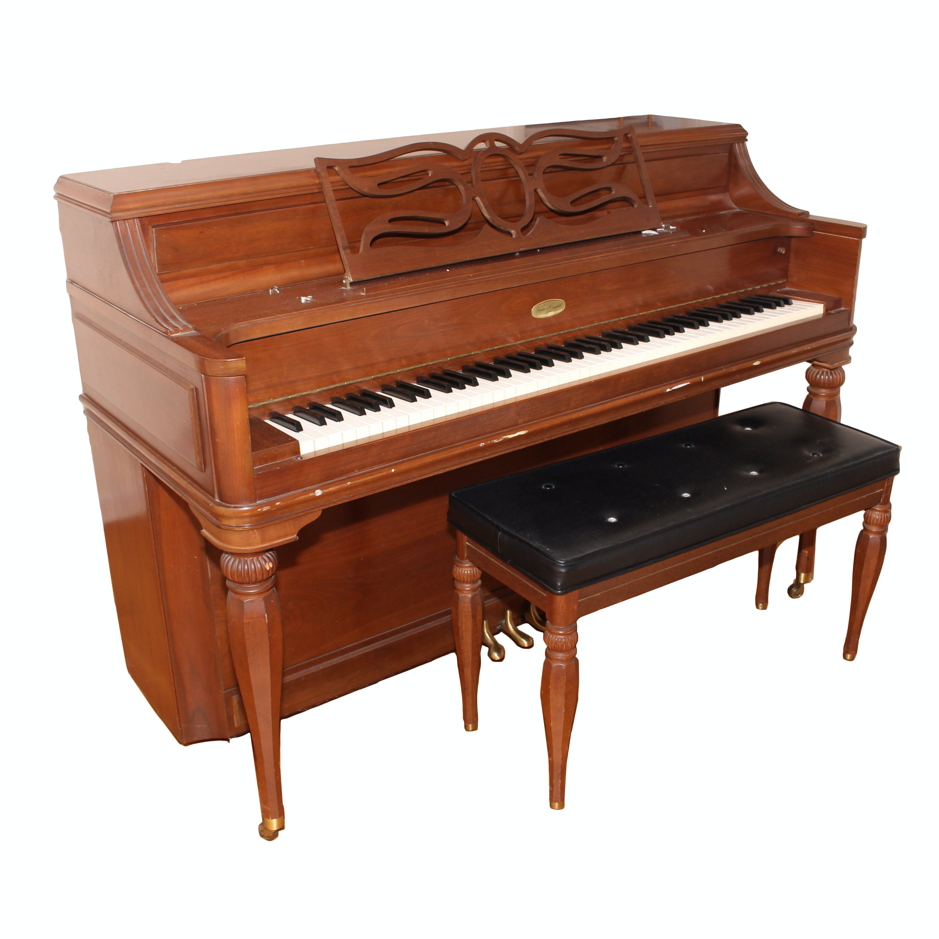 Kohler & Campbell Piano and Bench