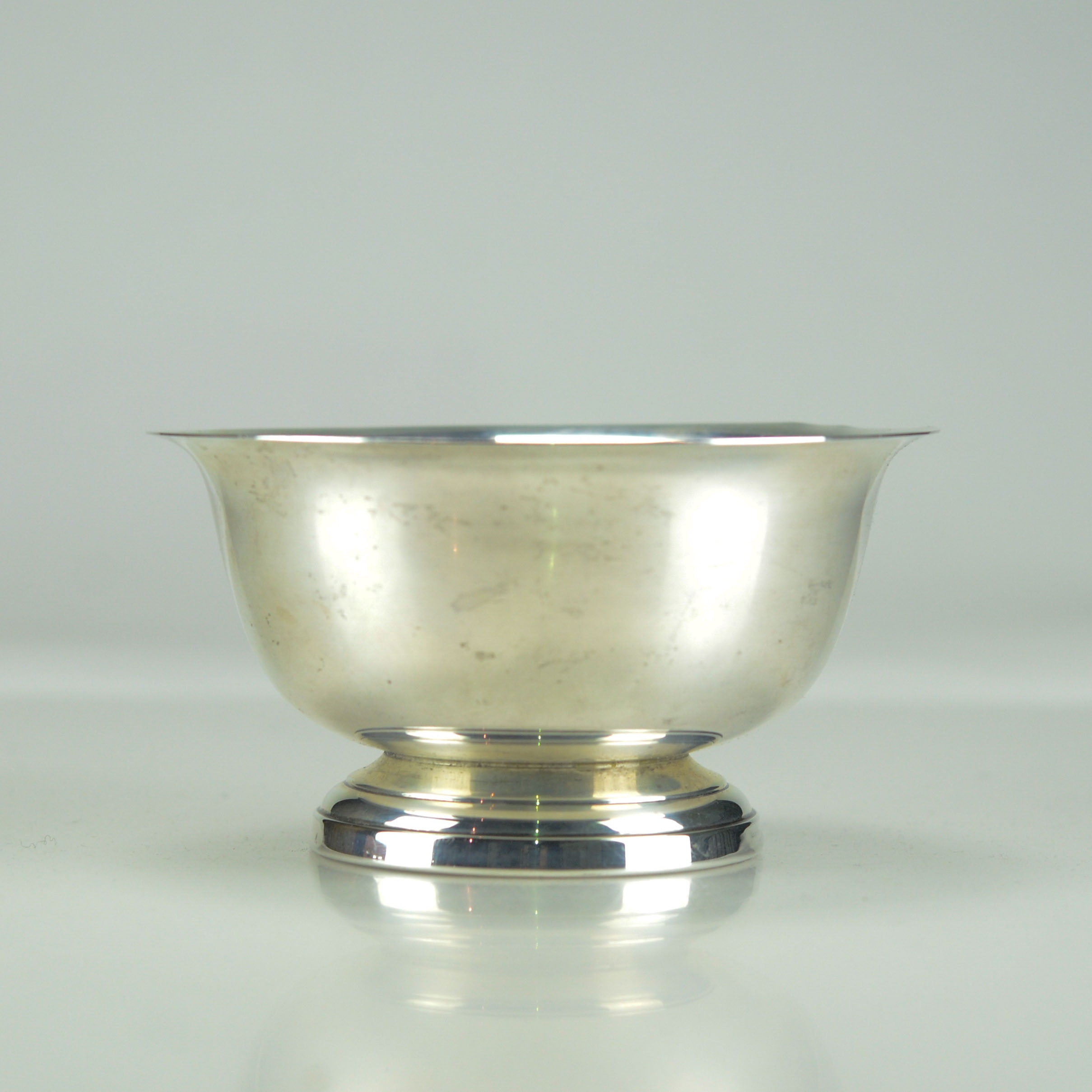 Sterling Silver Paul Revere Reproduction Bowl by Poole
