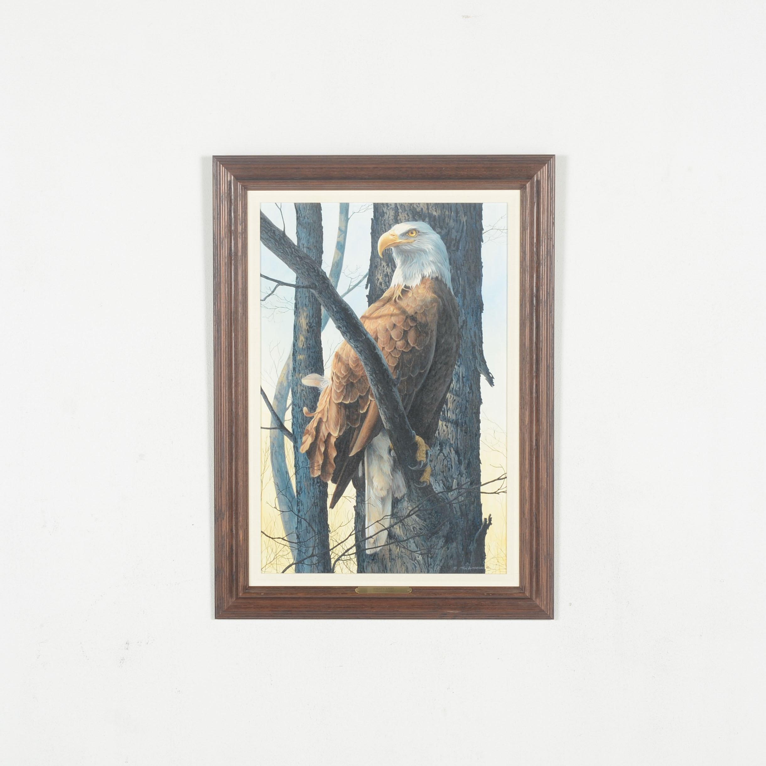 """Original Oil on Canvas  """"Eagle's Light"""" by Tom Antonishak"""