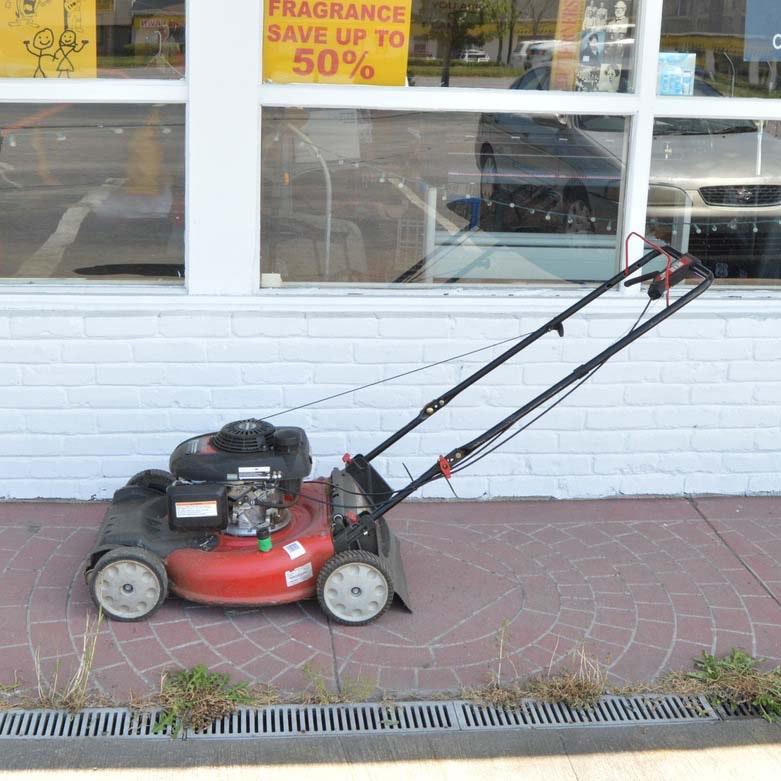 "Troy-Bilt 21"" Self-propelled Push Mower"