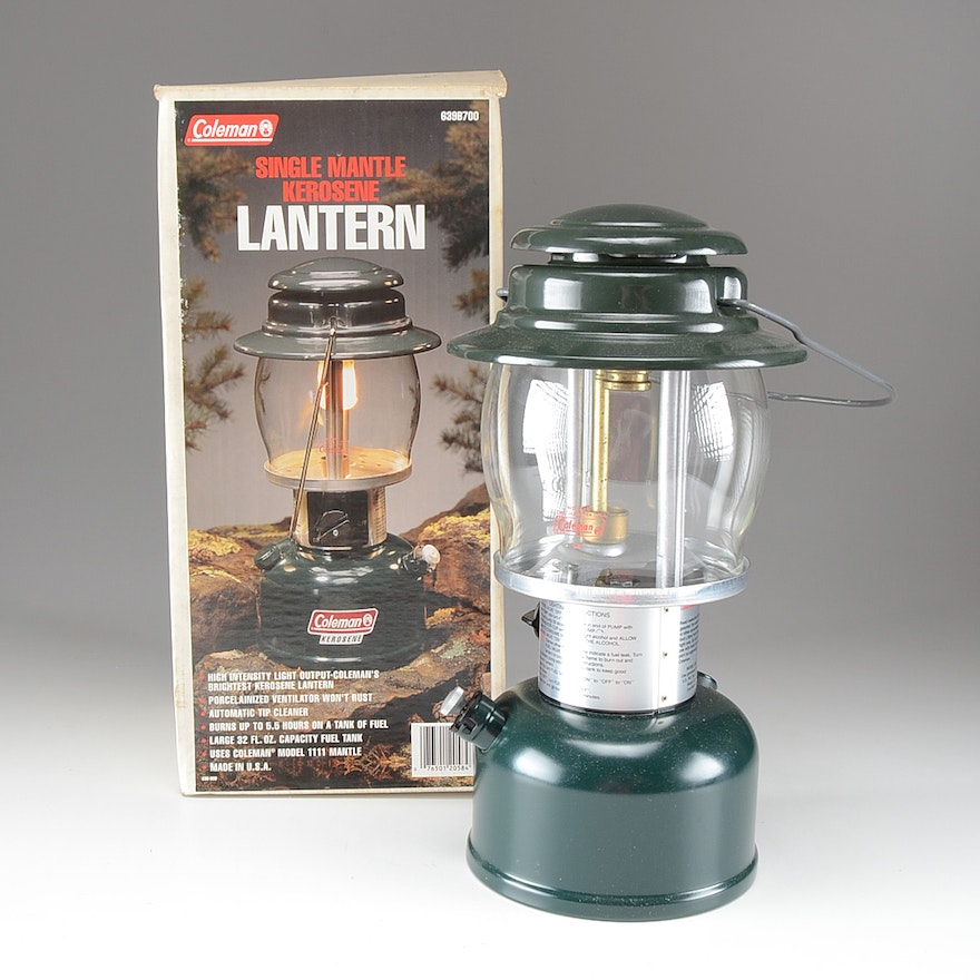 Coleman Single Mantle Kerosene Lantern