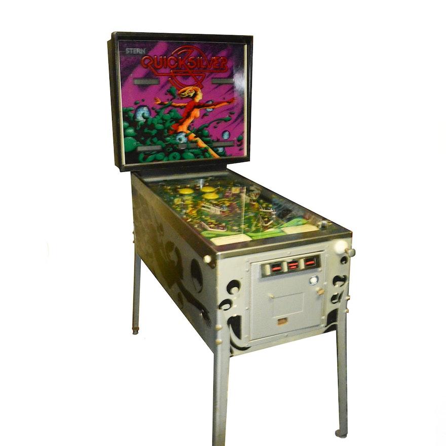 Quick Silver Pinball Machine