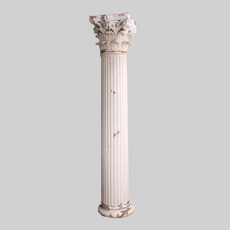 Antique Composite Column Architectural Element