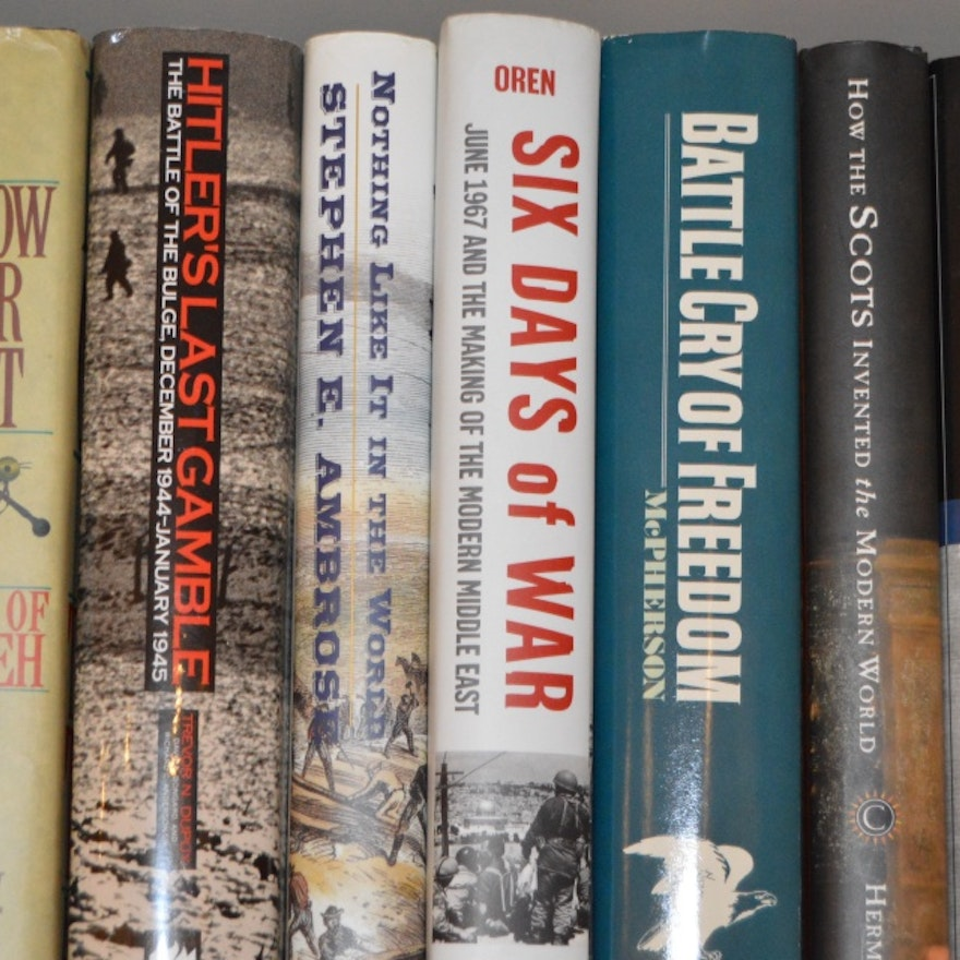 Mix of Fiction and Nonfiction Books