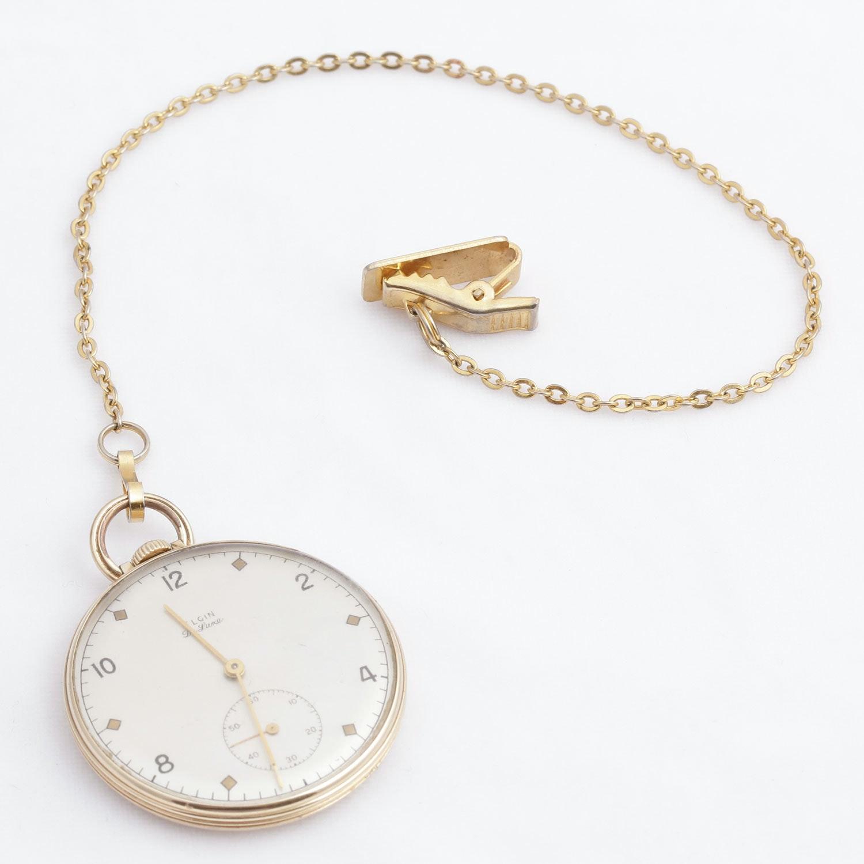 Vintage 10K Gold Filled Elgin Pocket Watch