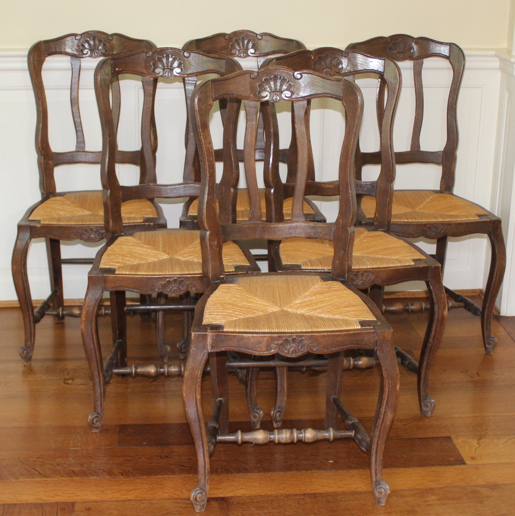 Reproduction French Provincial Dining Chairs ... & Reproduction French Provincial Dining Chairs : EBTH