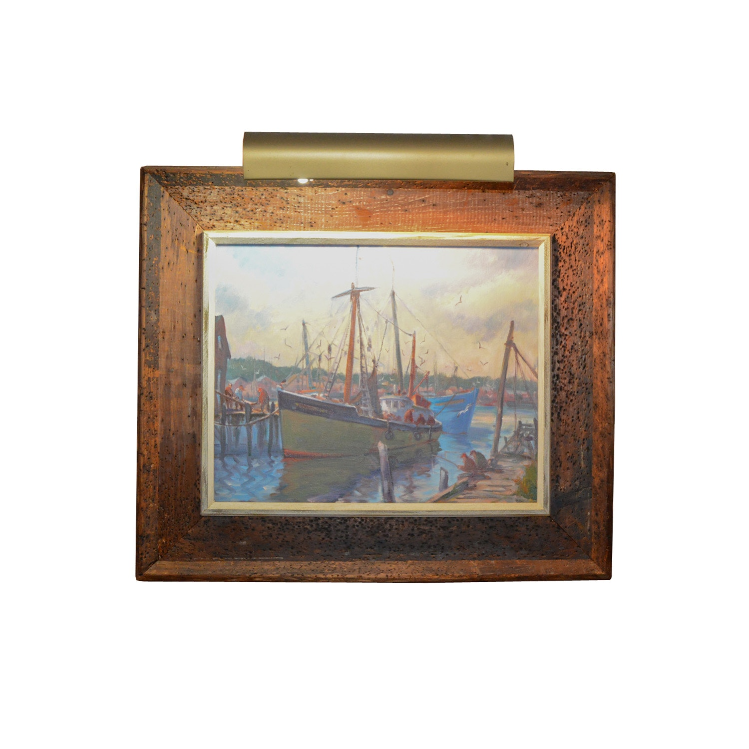 James B. Knowlton Oil Painting on Canvas