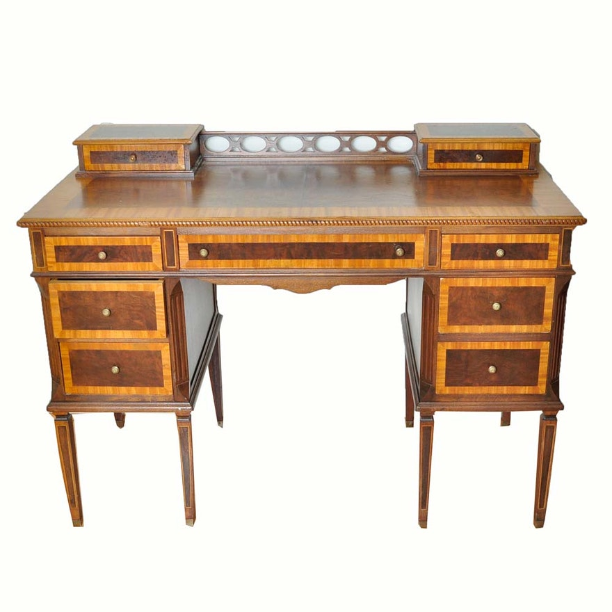 Antique Sheraton Style Writing Desk ... - Antique Sheraton Style Writing Desk : EBTH
