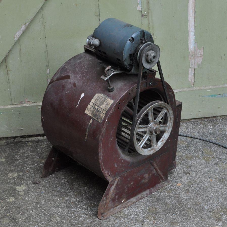 Vintage Blower with GE Motor