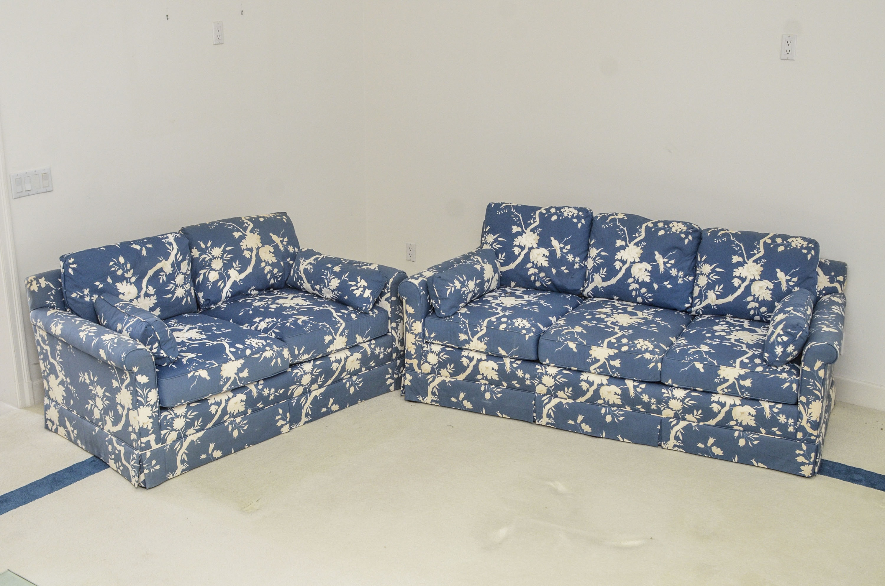 Sofa Love Seat Pair by Hickory Lyn