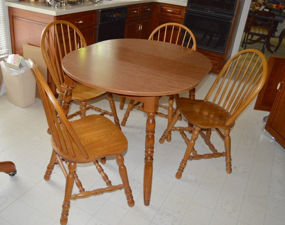 Early American Dining Room Furniture: Early American Style Kitchen Table And Chairs