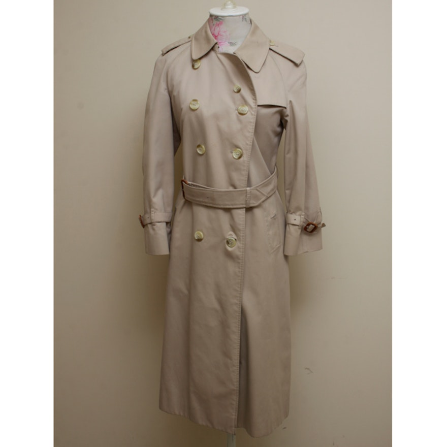 9b0d87693bcb Women's Vintage Burberry Trench Coat | EBTH