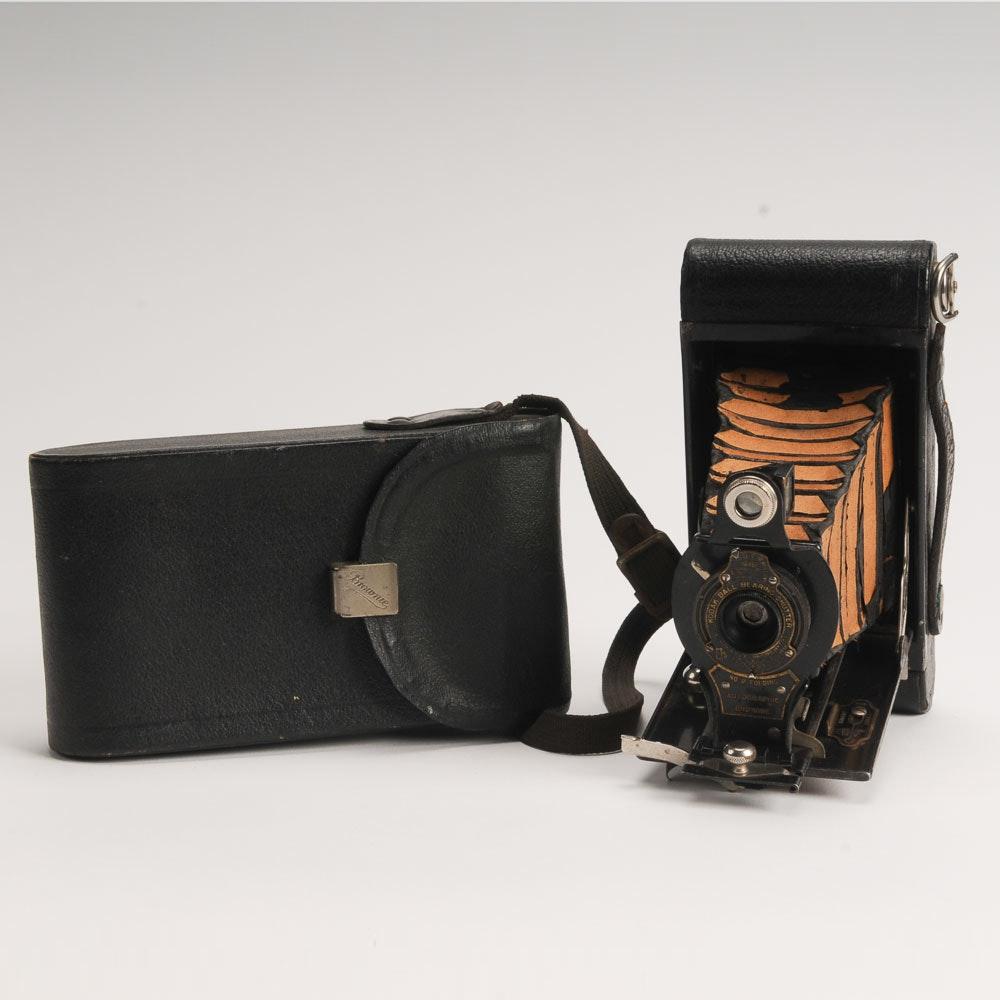Kodak Brownie Camera and Case