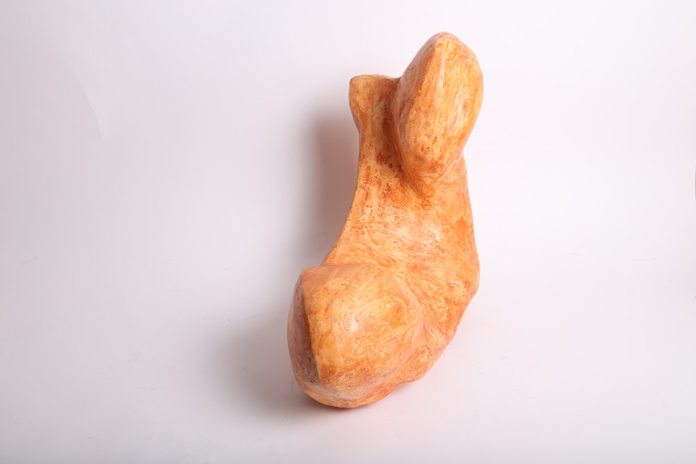 Non-Objective Plaster Sculpture : EBTH