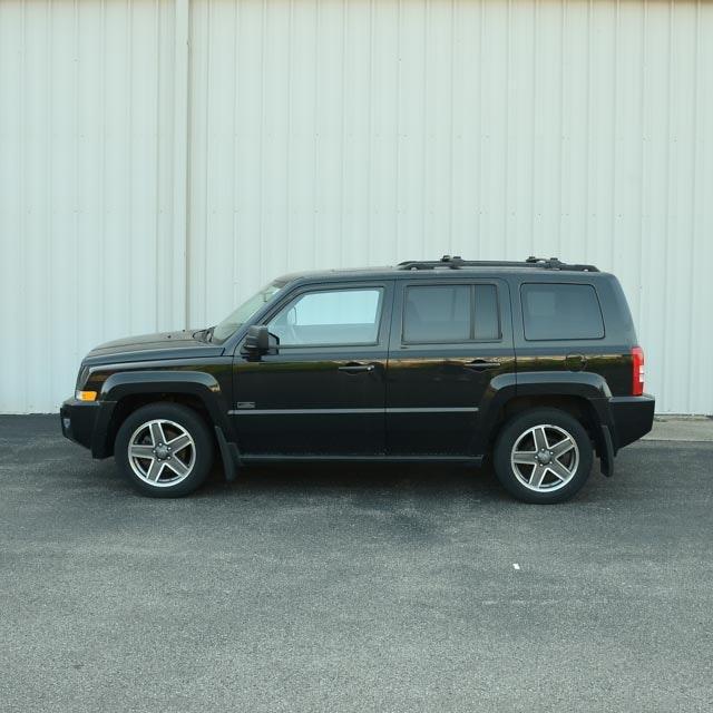 2009 Black Jeep Patriot