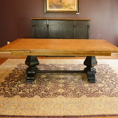 Hooker Furniture Sanctuary Refectory Dining Table ...