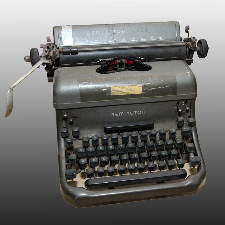 Vintage Remington Rand Typewriter
